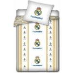 CARBOTEX Obliečky Real Madrid znaky bavlna 140x200 70x80