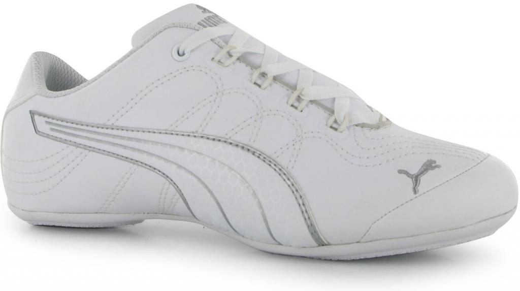 Puma Soleil V2 Comfort Ladies trainers white silver cfc10de13d