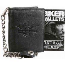 Greenburry Exkluzívna kožená peňaženka Black Wings b56c142d942