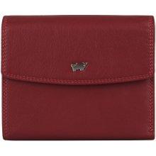 e007f31b4211 Braun Büffel Dámska kožená peňaženka Golf 2.0 90444 051 červená