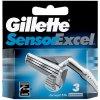 Gillette Sensor Excel Náhradné hlavice M 10 ks Náhradních hlavic