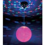 LED disco guľa s motorčekom 20cm