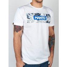 Manto tričko WAVES bílé