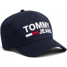 Tommy Hilfiger modrá unisex šiltovka TJM Flock Cap Black Iris s logom 943f700aaa2