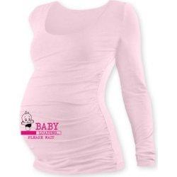 b0f9bc9e88a4 tehotenské tričko s potlačou DR Baby loading sv.ružové alternatívy ...