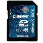 Kingston SDHC class 10 8GB SD10G2/8GB