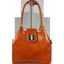 kožená kabelka Angela Camel Chiaro 13405d5666f
