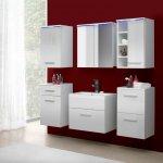 Malys-group Kúpeľňa MEGI 5 biely/biely lesk