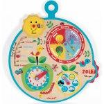 Janod drevený detský kalendár Over Time