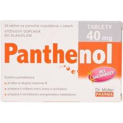 Recenzie Dr.Müller Panthenol 40 mg 24 tabliet - Heureka.sk 92a105c1952