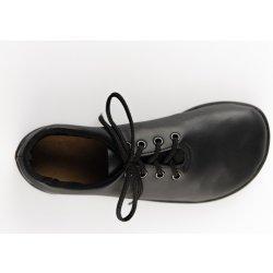 b64fba18958b8 Ahinsa Shoes Ananda čierna spoločenská obuv pánska, typ barefoot ...