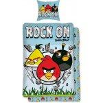 HALANTEX obliečky Angry Birds Rock bavlna 140x200 70x90
