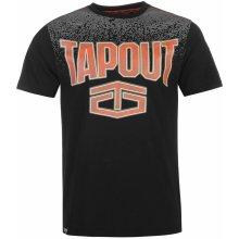 Tapout Gradient T Shirt Mens Black