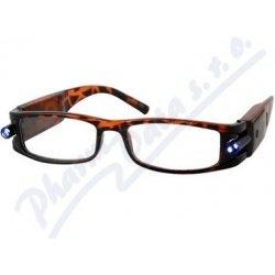 Dioptrické okuliare čtecí American Way s LED osvětlením od 5 9451aae87a4