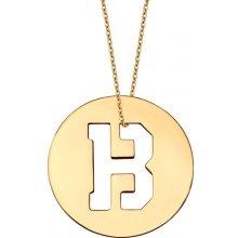 iZlato Forever Initial zlatý prívesok písmeno B IZ10998 54233a6d9d2