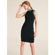 heine STYLE kokteilové šaty s ozdobnými aplikáciami čierna fb8e6888aa3