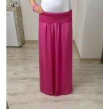 Maxi sukňa ružová
