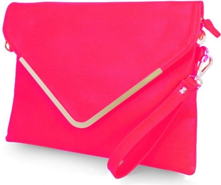 1fc7b63b4e listová kabelka F098 neon ružová alternatívy - Heureka.sk