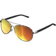 Urban Classics Sunglasses Mumbo Mirror silver/orange