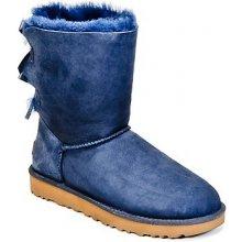 b116e4913466 UGG Bailey Bow II snehule modré