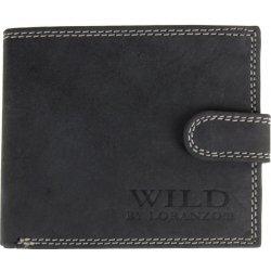 f4d459081 Wild Pánska peňaženka z brúsenej kože 998 tmavo šedá alternatívy ...