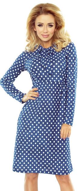 384e96121640 Bodkované šaty OLA s dlhým rukávom 158-1 od 33