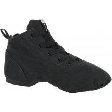 9b7d47531c921 DOMYOS plátenná obuv na moderný tanec čierna