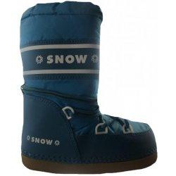 d1f7d3a5172 SNOW BOOT dětské zateplené sněhule tmavofialová od 10