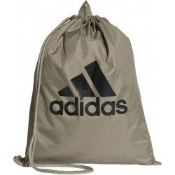 6228db0920 Adidas vrece na chrbát Performance PER LOGO GB NS zelená   čierna ...