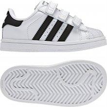 Adidas boty SUPERSTAR 2 CF C bílé/černé dět.