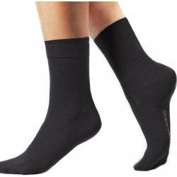 Klasické bambusové ponožky Bamboo čierna od 2 13da357a15