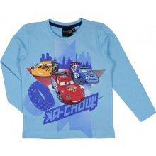 E plus M Chlapčenské tričko Cars - svetlo modré