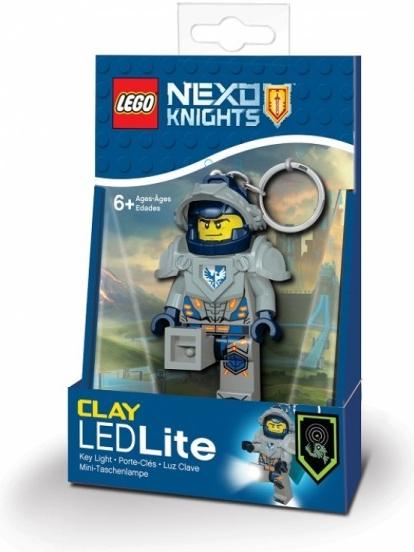 Prívesok na kľúče Prívesok na kľúče LEGO NEXO Knights Clay svietiaca ... 96400926903