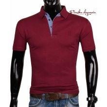 11052-5 Bordové polo tričko EXPOMAN 5008