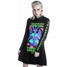 767c14a61fc5 Killstar dámske šaty Marilyn Manson Devil On Tour Black K-DRS-F-2501