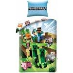 HALANTEX Obliečky Minecraft Farma Bavlna 140x200 70x90
