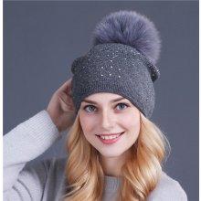 e6ccac948 Zimné čiapky od 40 € a viac, modrá - Heureka.sk
