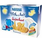 Nestlé Mliečko s kašou dušenky 2x200ml
