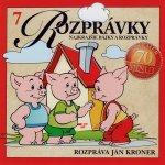Najkrajšie rozprávky 7 Kroner, CD