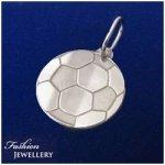 Futbalová lopta-strieborný prívesok (PŘS147)