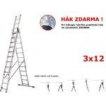 Rebrík Higher 3x12 priečok 9,3m