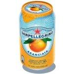 San Pellegrino sýtený, pomaranč 0,33 l