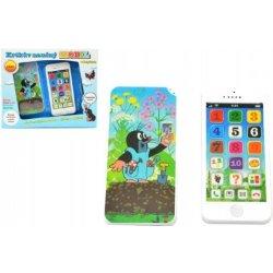 TEDDIES Krtkov náučný mobil telefón s krytom od 8 655a711b7b8