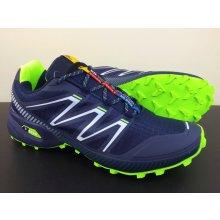 Pánska trailová obuv 2915MH Zelená / Navy