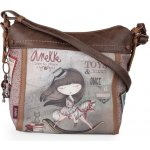 Anekke Stories Hobo crossbody Taupe