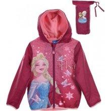 089b6cca9 SUN CITY Dětská bunda s kapucí Frozen Elsa růžová