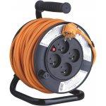 Emos PVC prodlužovací kabel na bubnu - 4 zásuvky 25m P19425