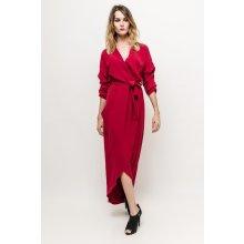 Dámske šaty Dámské šaty červené - Heureka.sk 03233306f38