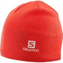 b8c417b47 SALOMON Beanie Fiery Red 18/19 Červená