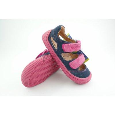 Protetika Detské letné barefoot topánky Berg Blue